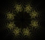 Modelos simétricos ondulados de las células Formas geom?tricas, org?nicas Modelo geométrico colorido del extracto para el diseño  ilustración del vector