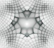 Modelos simétricos ondulados de las células Formas geom?tricas, org?nicas Modelo geométrico colorido del extracto para el diseño  libre illustration