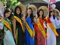 Modelos vietnamitas Fotografía de archivo libre de regalías