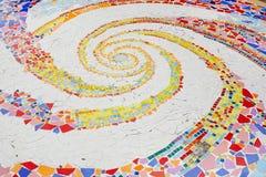 Modelos y colores de la baldosa cerámica Imagen de archivo libre de regalías