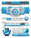 Modelos y materia superiores del Web Imagen de archivo