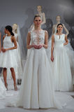 Models appear at A Toast To Tony Ward: A Special Bridal Collection Royalty Free Stock Images