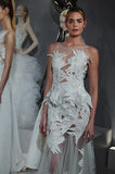 Models appear at A Toast To Tony Ward: A Special Bridal Collection Stock Image