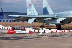 Models of aviation armament Royalty Free Stock Photo