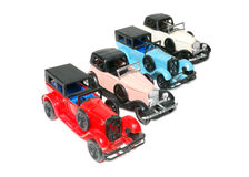 Models of cars Royalty Free Stock Photos