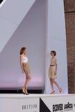 Models on the Catwalk London Fashion Week Stock Image