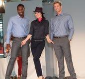Models Düsseldorf Airport Fashion Show Stock Photos