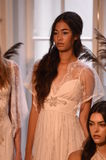 Models posing during the Claire Pettibone Four Seasons Collection Showcase Stock Photo
