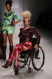 Models on the runway at the FTL Moda fashion show during Mercedes-Benz Fashion Week Fall 2015 Stock Photos