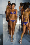 Models walk the runway at the Barraca Chick fashion show during MBFW Swim 2015 Royalty Free Stock Image