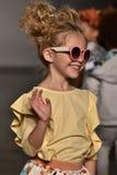 Models walk the runway finale at Martin Morgan Fall/Winter 2016 Runway Show during petiteParade. NEW YORK, NY - OCTOBER 17: Models walk the runway finale at royalty free stock photo