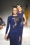 Models walk the runway finale at Ozgur Masur show Stock Image