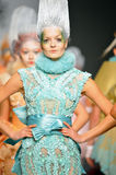 Models walk the runway at Furne One show Royalty Free Stock Photo