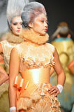 Models walk the runway at Furne One show Royalty Free Stock Photos