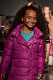 Models walk runway at Little Miss Matched Fall/Winter 2016 Runway Show during petiteParade Stock Photography