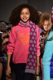 Models walk runway at Little Miss Matched Fall/Winter 2016 Runway Show during petiteParade Stock Image
