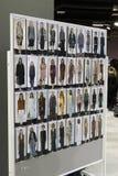Models walk the runway Royalty Free Stock Images