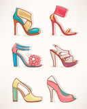 Models of womens shoes - 2 Stock Photos