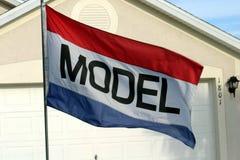 Modelwoning Stock Foto