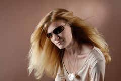 Modemädchen VI Stockbild