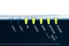 Modem câblé photo stock