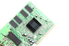 Modem Connection internet Computer equipment circuit board. Stock Photography