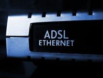 Modem d'ADSL image libre de droits