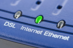Modem d'Internet image stock