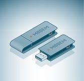Modem d'USB illustration libre de droits