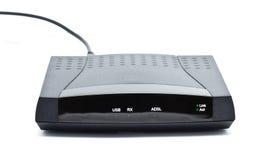 Modem do ADSL Fotos de Stock Royalty Free