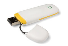modem för mobil 3g Fotografering för Bildbyråer