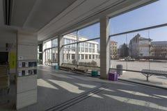 MODEM i Debrecen royaltyfria foton