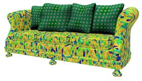 Modem-Möbel - Sofa stockfoto