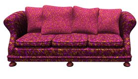 Modem-Möbel - Sofa Stockbild