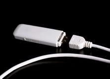 modem mobile 3g con cavo Fotografia Stock