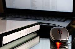 modem mysz obraz stock