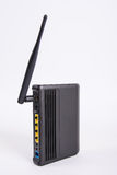 Modem router. Adsl network hardware Royalty Free Stock Photography