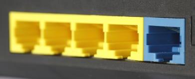 Modem Router Port Stock Photos