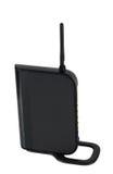 Modem wi-FI met antenne Royalty-vrije Stock Foto's