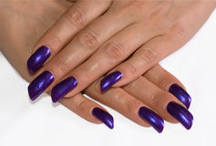 modemanicure Royaltyfria Bilder