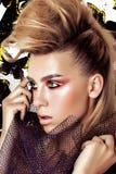 Modemodell Girl Arkivbild