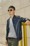Modemodell, män Royaltyfria Bilder