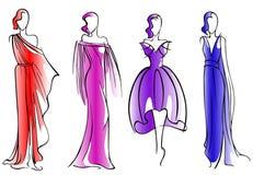 Modemodeller Arkivfoto