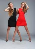 modemodeller två Royaltyfri Foto