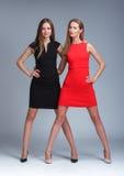 modemodeller två Royaltyfria Foton