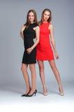 modemodeller två Royaltyfria Bilder