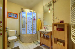 Moden badrum Arkivbilder