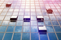 Moden Business Office Building Windows Royalty Free Stock Photos