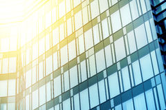 Moden Business Office Building Windows Repeative Pattern Royalty Free Stock Photo