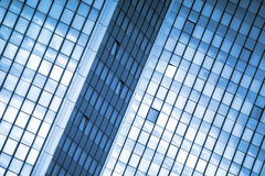 Moden Business Office Building Windows Repeative Pattern Royalty Free Stock Photography